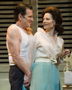 Robert Foxworth and Melinda Page Hamilton