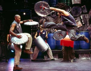 A scene from Stomp