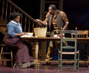 LaTanya Richardson Jackson and Ernie Hudsonin Joe Turner's Come and Gone