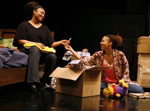 Natalie Venetia Belcon and Tracie Thoms