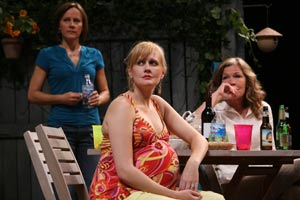 Janelle Snow, Stephanie Childers, and Linda Gehringer