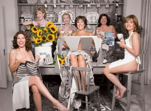 The cast of Calendar Girls