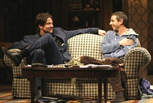 Christopher Evan Welch and Jeremy Strong in Our House (© Joan Marcus)