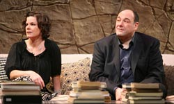 Marcia Gay Harden and James Gandolfini
