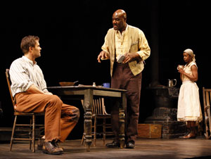 Garret Dillahunt, Delroy Lindo, and Roslyn Ruff