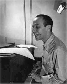 Frank Loesser in a 1950s Life magazine pictorial