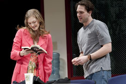 Marin Ireland and Thomas Sadoski