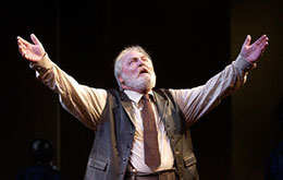 Stacy Keach in King Lear