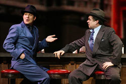 Craig Bierko and Oliver Platt in Guys and Dolls