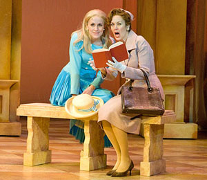Jennifer Blood and Lynne Wintersteller