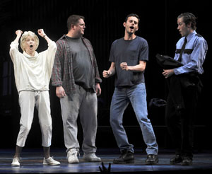 Elaine Stritch, Joe Coots, Wayne Wilcox, and Allen E. Read