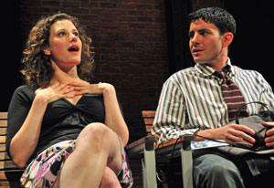 Melissa Miller and Scott Kerns in Heart of the City