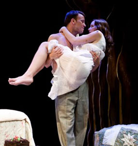 Eric T. Miller and Jamie Dunn in Sweet Storm