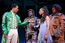 Orlando Jones, Joshua Henry, Ashanti, and