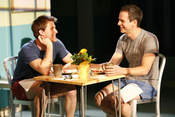 Patrick Heusinger and Patrick Breen in Next Fall