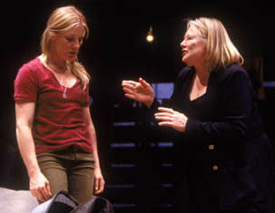 Catherine Kellner and Shirley Knight in Necessary Targets(Photo: Joan Marcus)