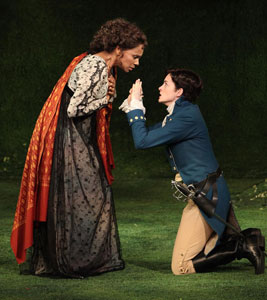 Audra McDonald and Anne Hathaway