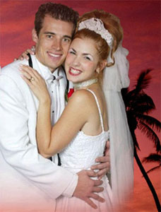 A publicity photo for Tony n' Tina's Wedding