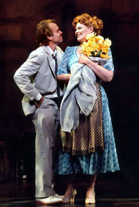 Butz and Debra Monk in Thou Shalt Not(Photo: Paul Kolnik)