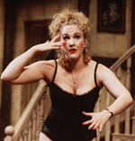 Katie Finneran in Noises Off