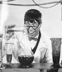 Jerry Lewis in the film, The Nutty Professor