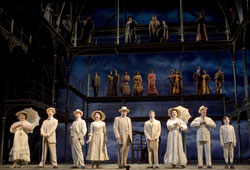 A scene from the Kennedy Center's Ragtime (© Joan Marcus)