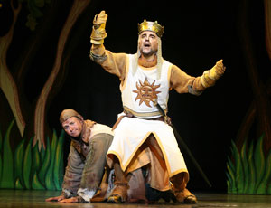 John O'Hurley and Jeff Dumas in Monty Python's Spamalot