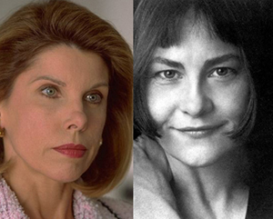Christine Baranski and Cherry Jones: head to head.