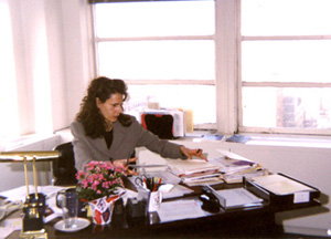 Kate Levin at work(Photo: Brian P. Carmichael)