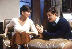 Mercedes Ruehl and Bill Pullman inThe Goat, or Who is Sylvia?(Photo: Carol Rosegg)