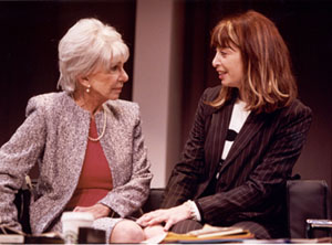 Doris Belack and Illeana Douglas in Surviving Grace(Photo: Joan Marcus)