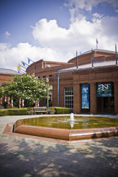 Exterior view of Alabama Shakespeare Festival theater