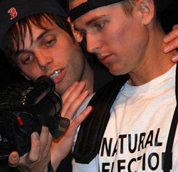 Justin Mortelliti and Artie Ahr