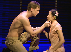 Andrew Samonsky and Li Jun Li in South Pacific