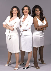 Barbara Walsh, Karen Ziemba, and
