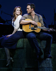 Kate Baldwin and Cheyenne Jackson