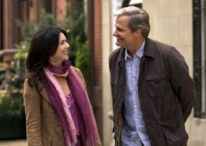 Lauren Graham and Jeff Daniels in The Answer Man