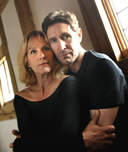 Penny Downie and Paul McGann star in Helen