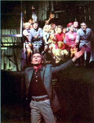 Dean Jones and the cast of Company