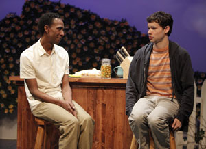 Ron Cephas Jones and Jake O'Connor