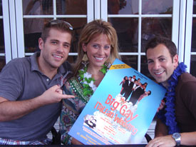 Scott Evans, Dina Manzo, and Anthony Wilkinson