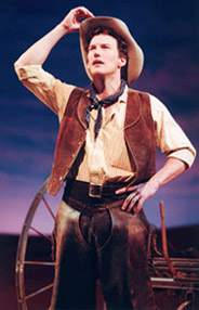 Patrick Wilson in Oklahoma!(Photo: Michael LePoer Trench)
