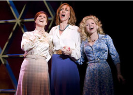 Stephanie J. Block, Allison Janney, and Megan Hilty