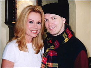 Kathie Lee Gifford with Charles Busch