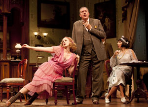 Katie Finneran, Edward Herrmann, and Andrea Martin