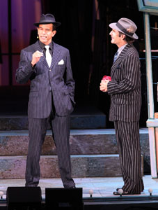Brian Stokes Mitchell and  Scott Bakula