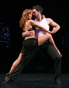 Karina Smirnoff and Maksim Chmerkovskiy