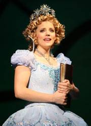 Katie Rose Clarke in Wicked