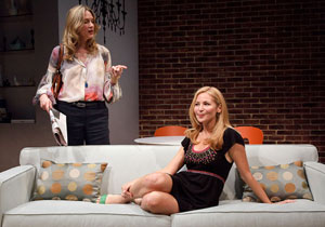 Christina Kirk and Jennifer Westfeldt