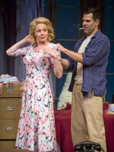 Marin Mazzie and Christopher Innv